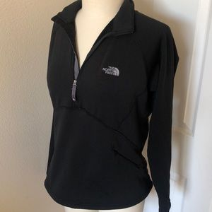 Black North Face Pullover Jacket